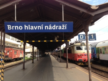 Brno Main Train Station Sept 2013 - 09