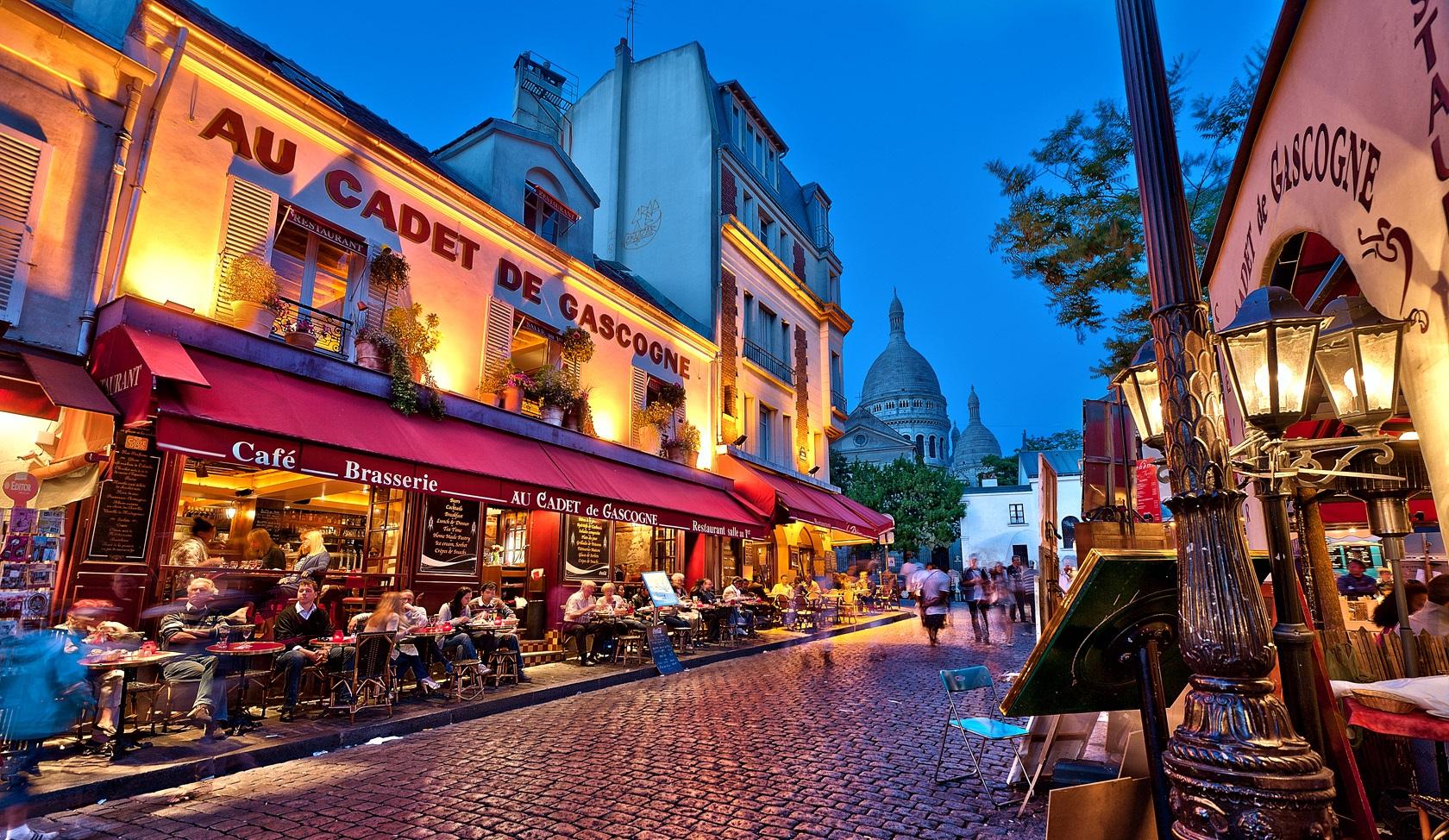 Travel-Exploring-Paris-Montmartre-Restaurant-Au-Cadet-De-Gascogne